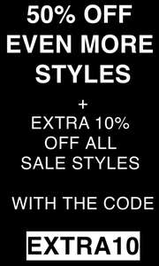 Vans up to 50% off sale new lines added further 10% off with code Free delivery @ Vans