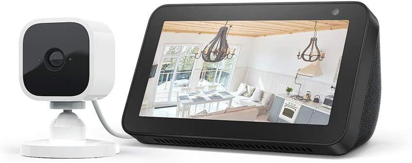 Echo Show 5 Black / White + Blink Mini 1080p Indoor Camera, Works with Alexa £69.99 @ Amazon