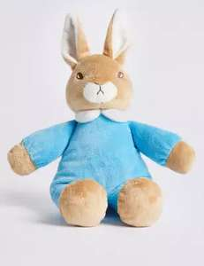 Peter Rabbit Bedtime Toy - £6.00 with free click and collect @ Marks and Spencer.