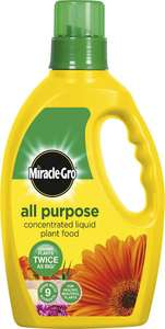 Miracle-Gro All Purpose Liquid Plant Food 1 Litre, £3 In Store @ Poundland (Trongate, Glasgow)