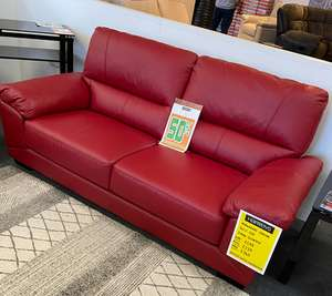 Leather sofa - £239 Instore at Harvey's furtniture (West Yorkshire)