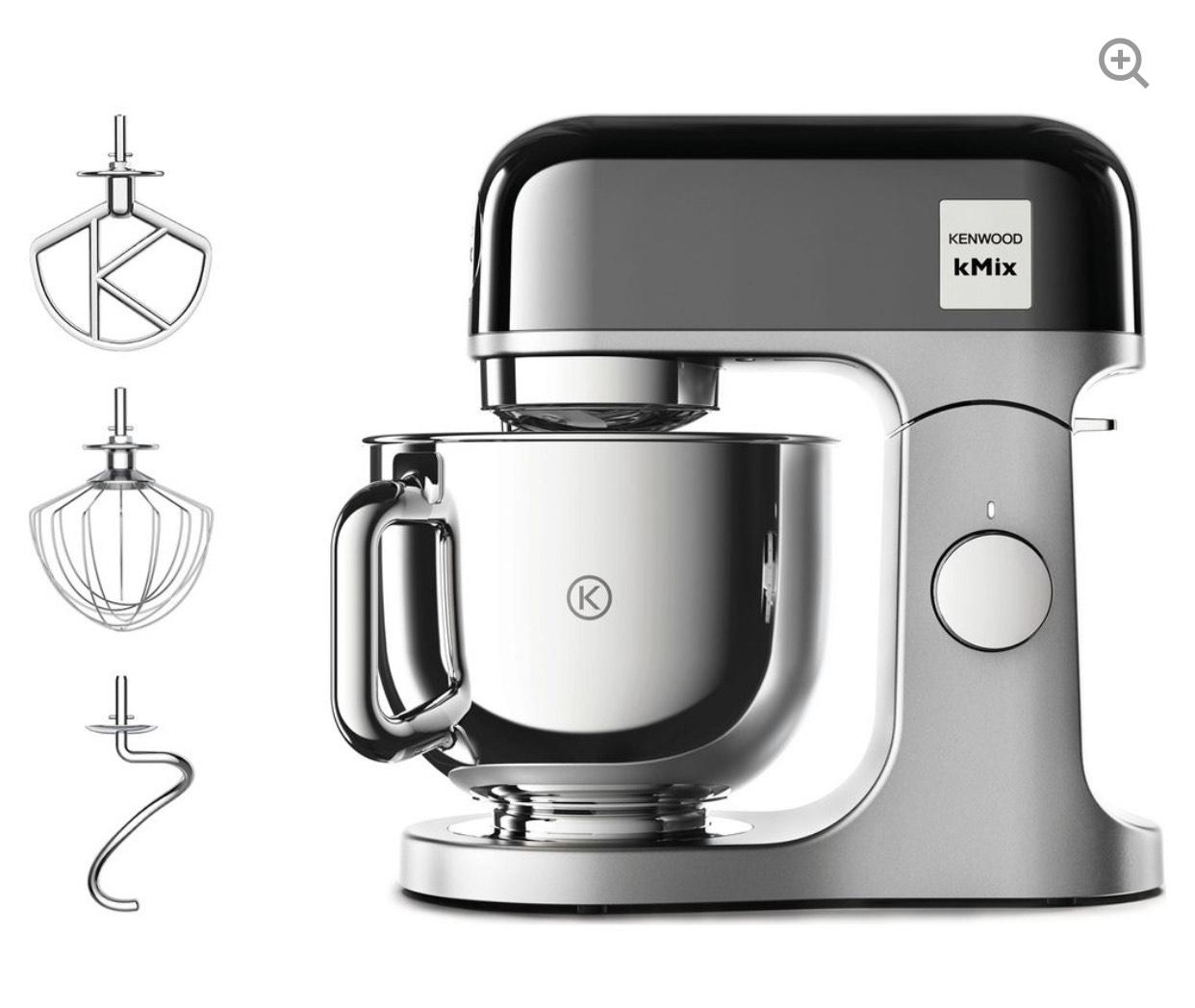 KENWOOD kMix KMX760BC Kitchen Machine - Black & Stainless Steel £299 @ Currys PC World