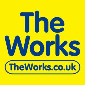 20% off Your Order with No Minimum Spend @ The Works (Exclusions apply)
