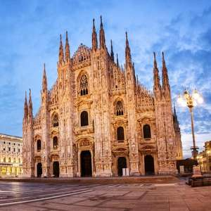 Return Flights - London Luton to Milan for £18 at Skyscanner