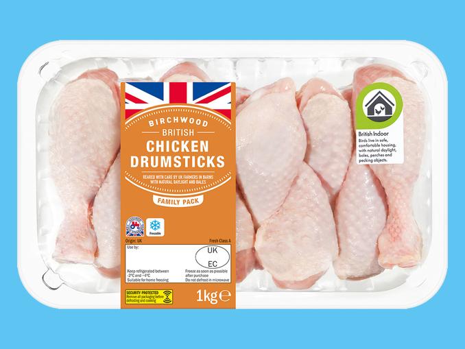 Chicken Drumsticks 1kg £1.29 @ Lidl