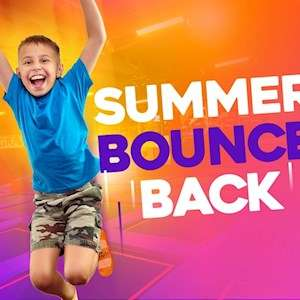 Get unlimited bounces throughout the Summer £14.95 at Gravity