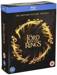 Lord Of The Rings Trilogy Blu-Ray Box Set - £12.74 (Prime) £15.73 (Non Prime) at Amazon