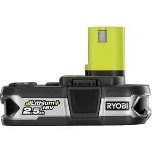 Ryobi ONE+ RB18L25 18V 2.5Ah Lithium Battery with Fuel Gauge - £46.95 Delivered @ manomano / SGS Engineering