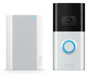 Ring Video Doorbell 3 + Chime £131.98 - Costco Instore Only Manchester, Trafford