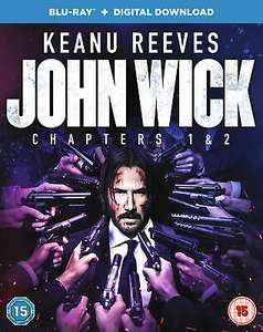 John Wick: Chapters 1 & 2 [Blu-ray + Digital Download] - £7.49 @ theentertainmentstore / eBay