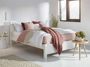 £614 Super King Bed Handmade Made in the UK with 11yr guarantee @ Get Laid Beds