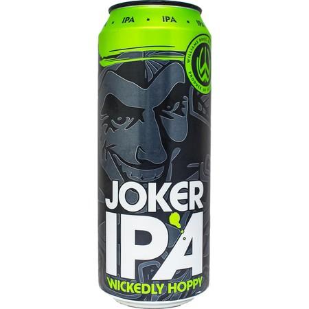 Williams brothers Joker IPA 4x500ml 5% abv for £5 instore @ Aldi, Birkdale