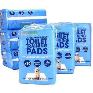6 x Packs Of Ultra Absorbent Toilet Puppy Training Pads (Total 180) - £25 delivered @ Yankee Bundles