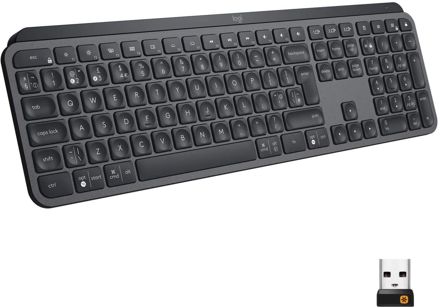 Logitech MX Keys at Amazon for £81.40