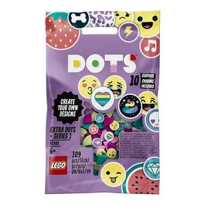 LEGO DOTS 41908 Extra Dots - Series 1 £3.29 @ Amazon (+ £4.49 non Prime) + No Rush Delivery Reward