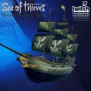 Sea of Thieves Spartan Ship Set - Free with Twitch Drops @ Twitch Store