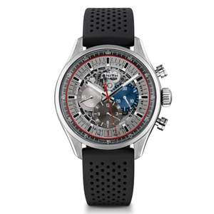 Zenith El Primero 36'000 VPH Automatic Men's Watch - £3680 delivered at Beaverbrooks using code