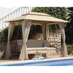 Luxor Garden Bed Swing Seat with Canopy £249 delivered, using code, @ JTF