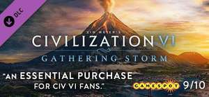 Gathering storm DLC for Civilization VI - £8.82 @ 2game