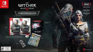 The Witcher 3 Wild Hunt Complete Edition on Nintendo Switch (free P&P) - £36.85 @ Simply Games