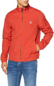 Original Penguin Sticker Pete Mens Red Ketchup Lightweight Wind Cheater Jacket (Size: S) - £18.42 Prime / +£4.49 non Prime - Amazon