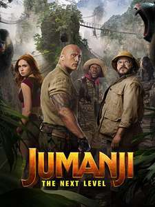 Jumanji: The Next Level 4K UHD rental £1.99 @ Amazon Prime Video