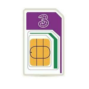 Sim Only - 12GB Data with Unlimited Minutes and Texts - 12 month plan £8pm @ Three