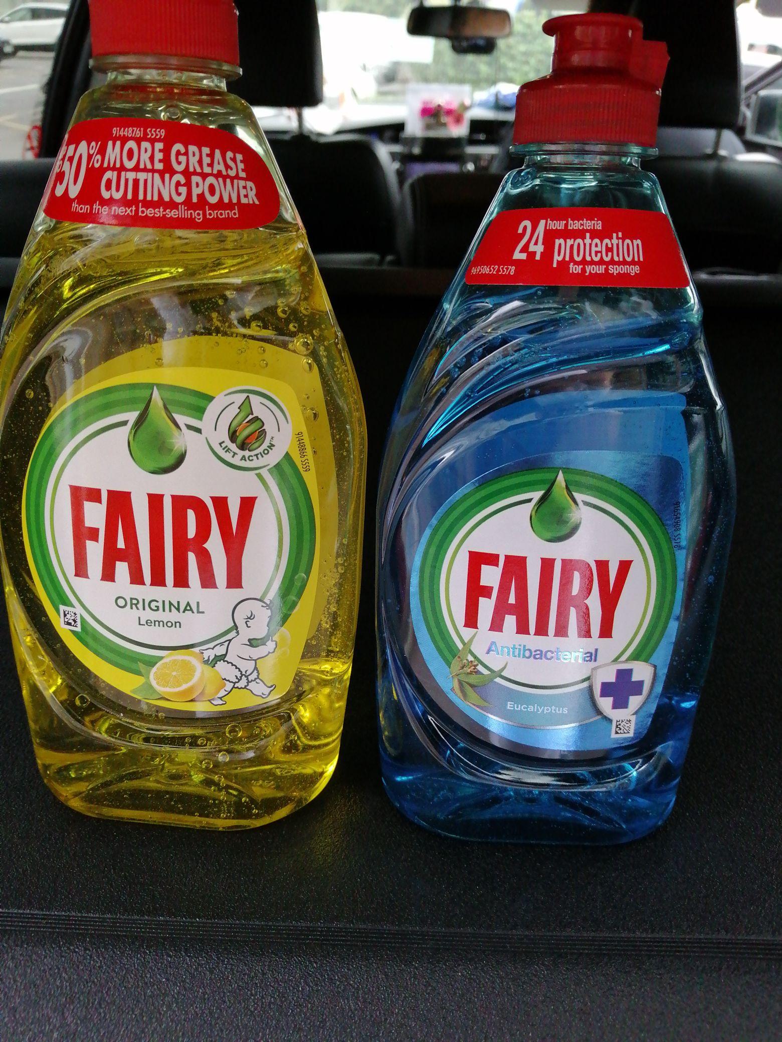 Fairy washing up liquid 383ml 65p @ Marks & Spencer (Shoreham)