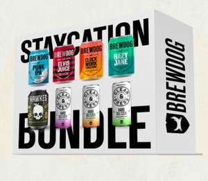 BrewDog Staycation Bundle 48x330ml cans (Beer/Cider/Hard Seltzer) with Free Delivery @ Brewdog Brewery