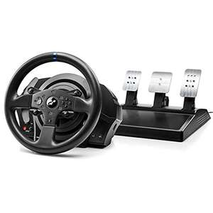 "Thrustmaster 4160681 ""T300 RS GT Edition"" steering wheel and 3-pedal set black PC/PS4/PS3 @ Amazon Germany"
