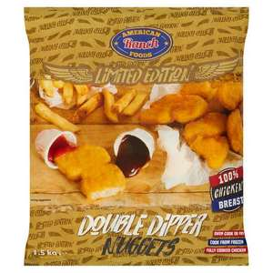American Ranch Foods Limited Edition Double Dipper Nuggets 1.5kg - £ 3 @ Iceland