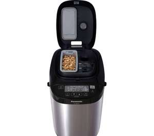 Panasonic SD-ZB2502BXC Breadmaker with Fruit & Nut dispenser (Stainless Steel) - £179 delivered - @ Currys
