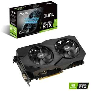 ASUS Geforce RTX 2060 Super Dual EVO OC 8192MB GDDR6 PCI-Express Graphics Card - £409.99 @ Overclockers