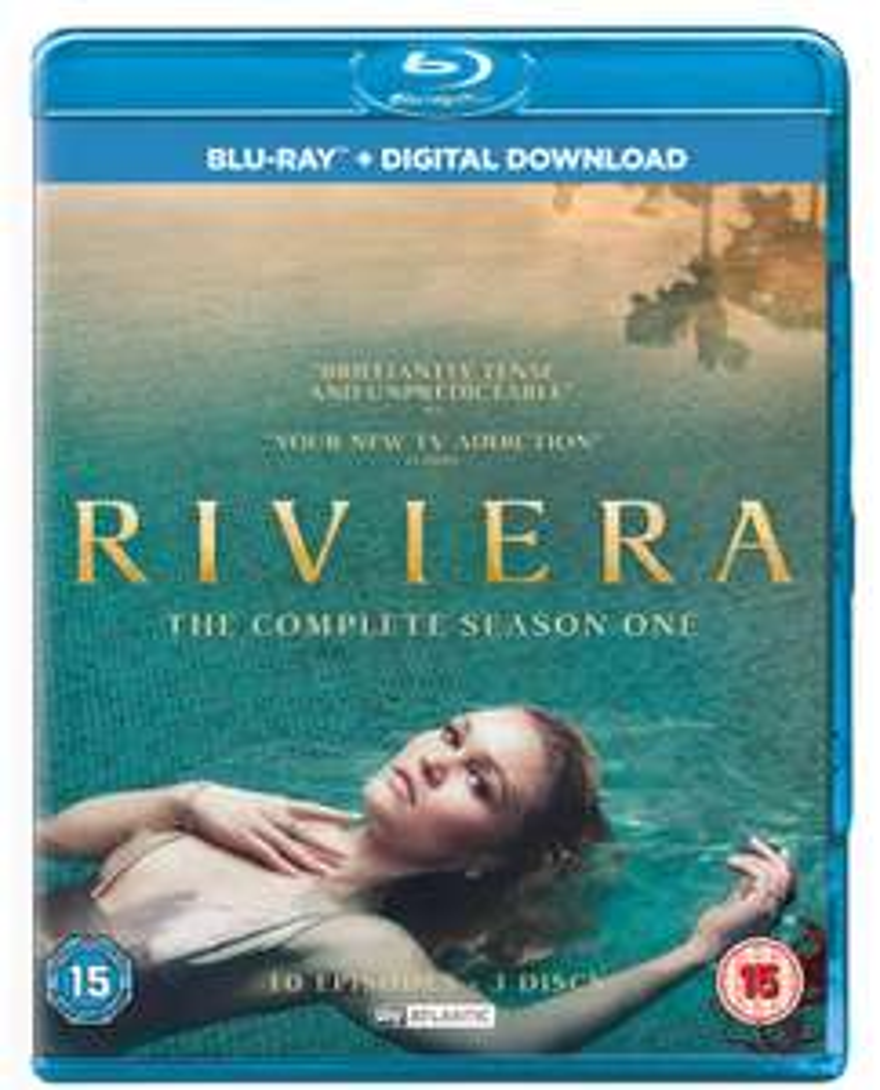 Riviera season 1 blu ray - £3.99 @ HMV + Free click and collect