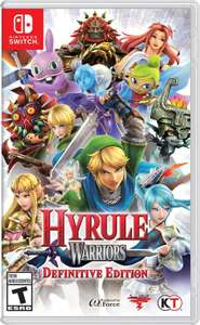 Hyrule Warriors Definitive Edition Nintendo Switch Game £32.99 - Free click and collect at Argos