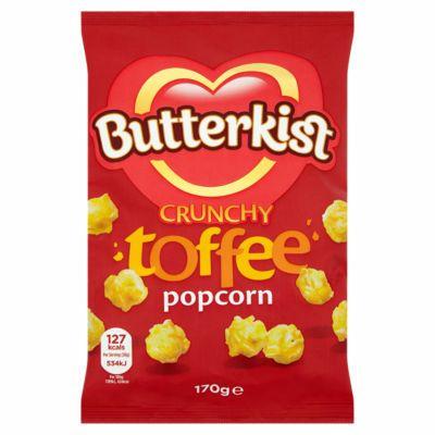 Butterkist crunchy toffee popcorn 170g £1@ Asda