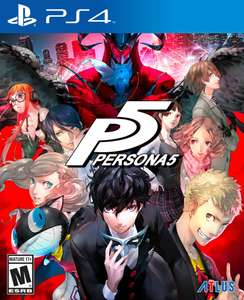 Persona 5 PS4 - £12.49 @ Playstation Network