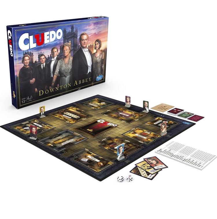Cluedo Downton Abbey Edition Board Game Now £11.50 Prime (+£3.49 non Prime) / No rush reward £1 credit available @ Amazon