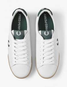 70% Off Leather Tennis Trainers (All Sizes 3-12) - Free Next Day Delivery & Free Returns e.g. B722 £24 @ Fred Perry Shop