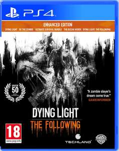 Dying Light: The Following - Enhanced Edition (PlayStation 4) £14.99 at Playstation Network