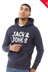 Jack & Jones Mens Corp Sweat Hoodie Now £10 sizes S up to XL Black, Grey, Blue delivery is £4.99 or Free with prepaid pass @ M&M Direct