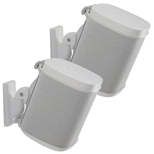 Sanus Adjustable Speaker Wall Mounts Designed For SONOS ONE, PLAY:1 & PLAY:3 - Pair - £38.52 @ Amazon