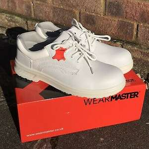 WearMaster white toetector safety shoes (sizes 3-13 available) - £12.99 @ eBay / the-hills-are-alive