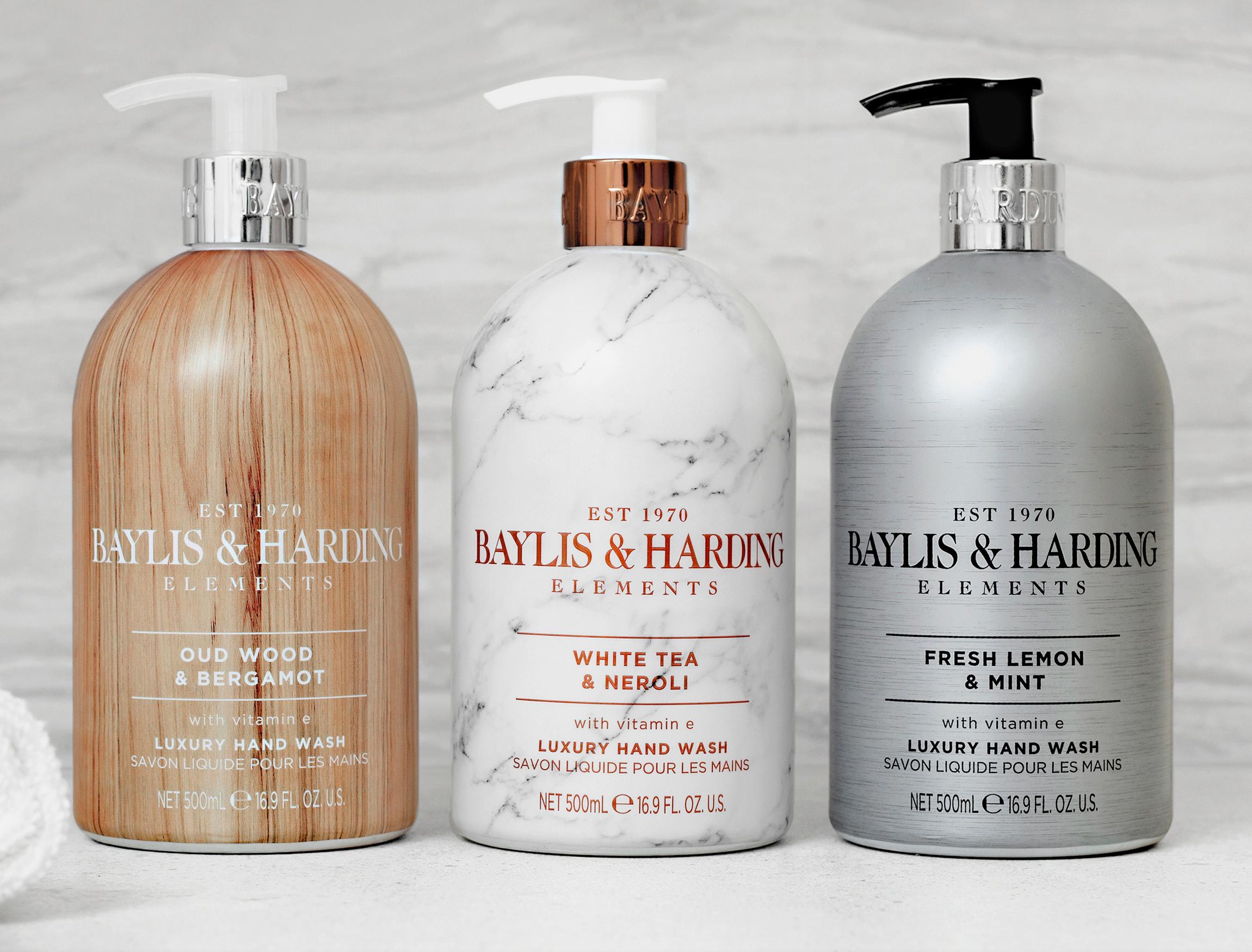 Baylis & Harding Elements Luxury Hand Wash White Tea & Neroli or Lemon & Mint or Oud & Bergamot 500ml for £1.50 each @ Morrisons