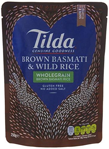 Tilda Steamed Brown Basmati and Wild Rice, 250g 75p Prime / £5.24 Non-Prime @ Amazon