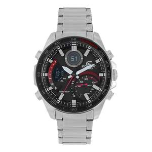 Casio Edifice Bluetooth Tough Solar World Time Silver Bracelet Watch £79.20 with code at H.Samuel