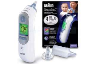 Braun ThermoScan 7 Ear Thermometer with Age Precision £49.99 @ Argos