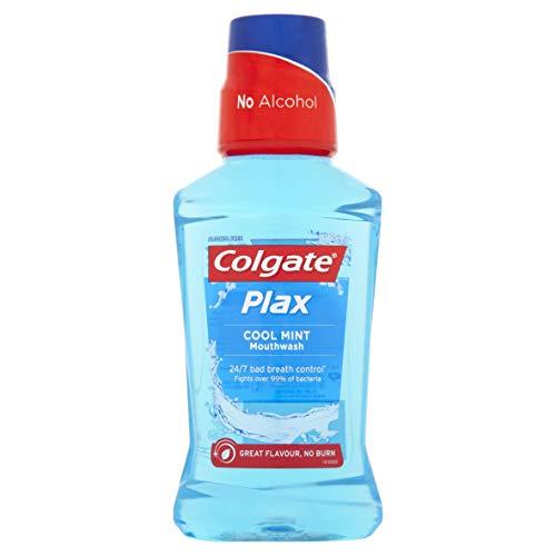 Colgate Plax Cool Mint Mouthwash, 250ml £1 (Prime) + £4.49 (non Prime) at Amazon