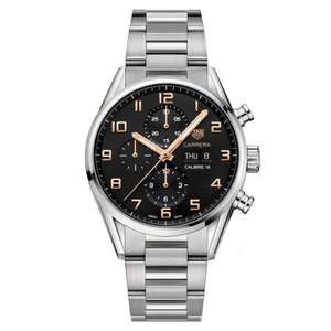 TAG Heuer Carrera Men's Watch £2,840 @ Beaverbrooks (Possible 21.45% Quidco)
