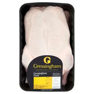 Gressingham whole duck £5 morrisons walworth road